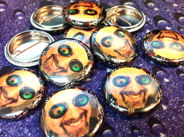 psychedelic strap pins