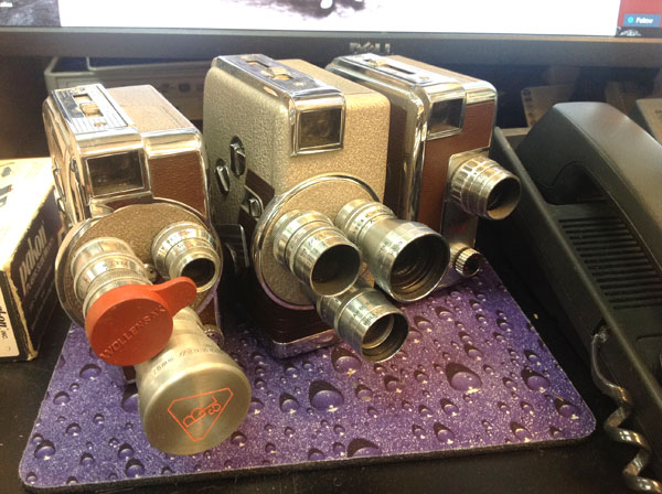 8mm movie cameras